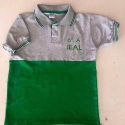 FABRICA DE UNIFORMES ESCOLARES Chombas de egresados con números bordados Fabrica de uniformes escolares